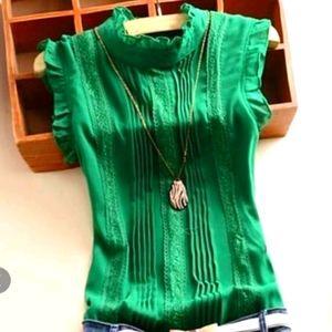 NWOT Green top
